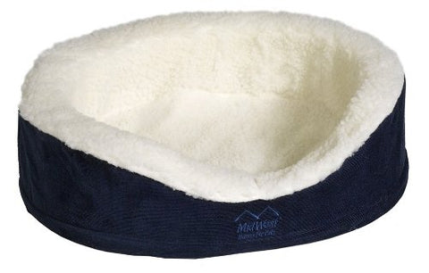Midwest Quiet Time E'Sensuals Orthopedic Nesting Bed, 25 Diameter, Navy