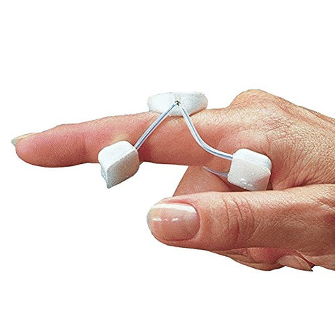 Rolyan Sof-Stretch Extension Splint, X-Large, White, 5-Pack, Finger Brace &Amp; Knuckle Immobilization, Recovery &Amp; Rehabilitation Aid For Edema, Joint Extension &Amp; Contractures, Support For Injured Fingers