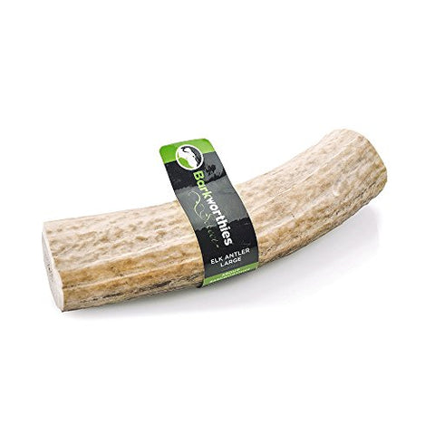 Barkworthies All Natural Elk Antler, Large, Pet Dog Chew Treats