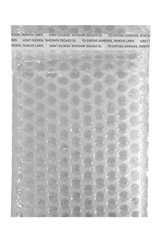 Heavy Duty Bubble Bags - Self-Sealing, Double Walled, Clear Bubble Pouches - Protective Bags For Shipping, Storage, And Moving - 5 X6  Each (24 Count)