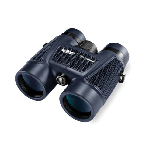 H2O Series Roof Prism Binoculars 10X42 With Twist Up Eye Cups