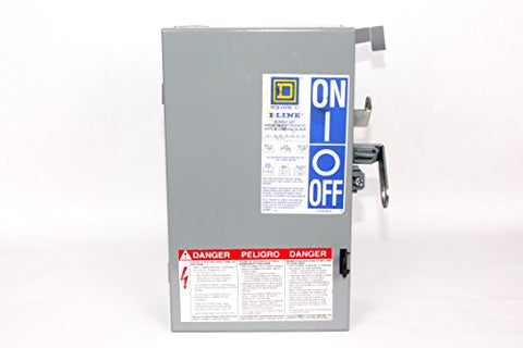 Pq3603G Square D 30 Amp 600V 3 Phase Fusible Plug-In Busway Fs Unit I-Line Ii, With Integral Ground Bus