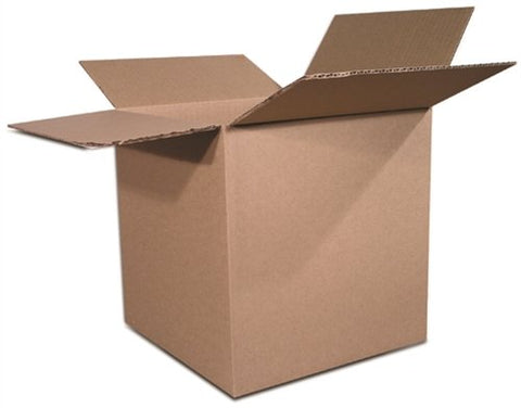 The Packaging Wholesalers 4 X 4 X 4 Inches Shipping Boxes/Moving Boxes, 25-Count (Bs040404)