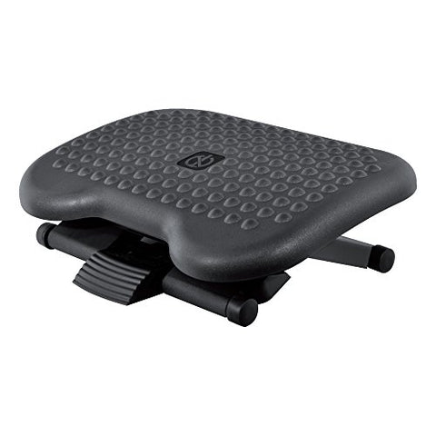 Nuova Premium Ergonomic Footrest - Adjustable Angle &Amp; 3 Different Height Position - Fr6100 Foot Rest