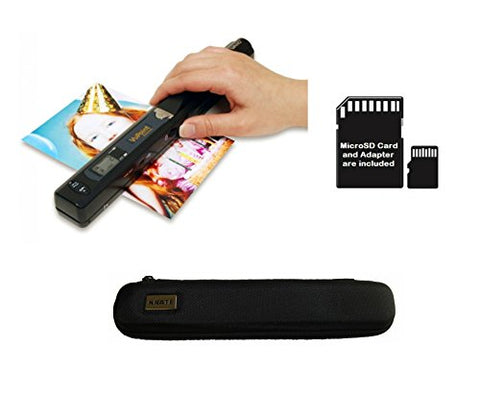 Vupoint Magic Wand Portable Scanner With Carrying Case &Amp; 8Gb Microsd Card