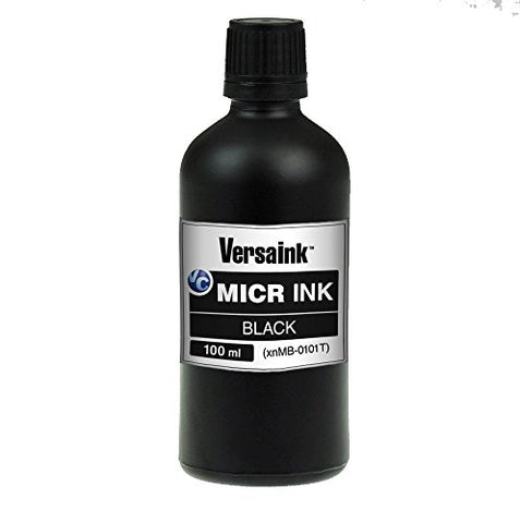 Versaink Vimb1S-6512 Black Micr Ink 100Ml - Magnetic Ink For Inkjet Printers Ink