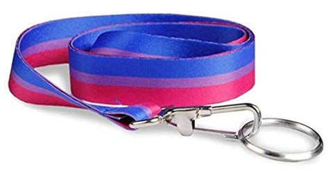 Bisexual Pride Lanyard - Support Lgbtq Cause