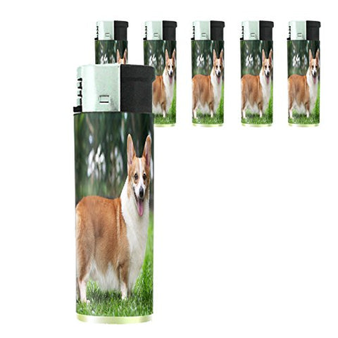 Dog Corgi 02 Lighter Set Of 5 Pieces