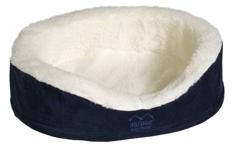 Midwest Quiet Time E'Sensuals Orthopedic Nesting Bed, 36 Diameter, Navy