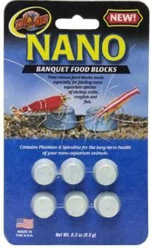 Zoo Med Nano Banquet Block Mini 6/Cd