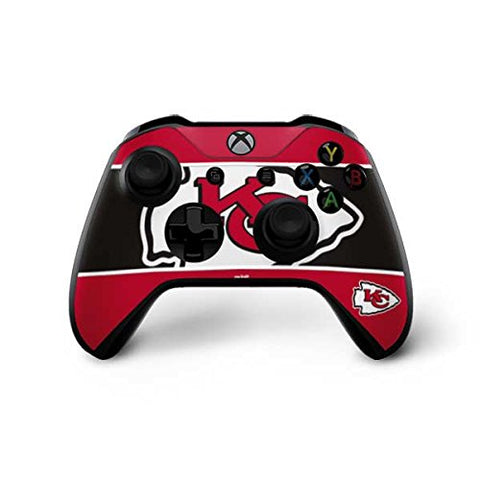 Skinit Kansas City Chiefs Zone Block Xbox One X Controller Skin - Officially Licensed Nfl Gaming Decal - Ultra Thin, Lightweight Vinyl Decal Protection
