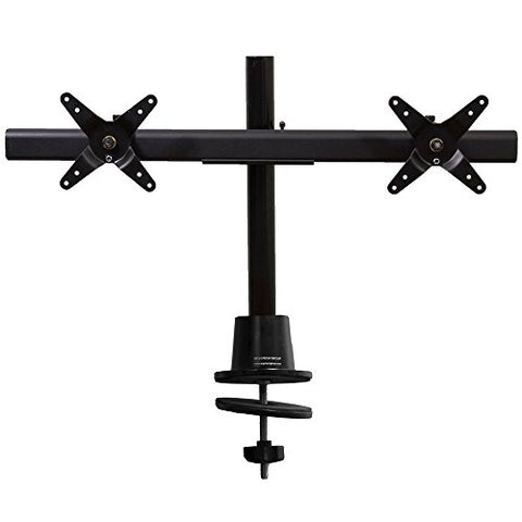 Ergotech Dual Horizontal Lcd Monitor Direct Mount On 16-Inch Pole (100-G16-B02)