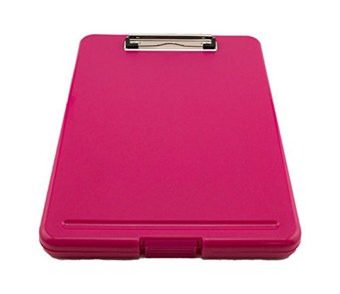 Tytroy Slim Pink Plastic Storage Clipboard Legal Size Clipboard