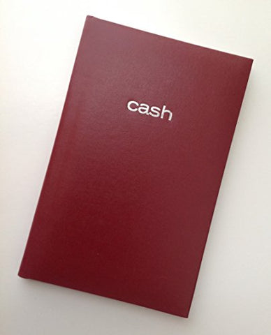 Mead Cash Book, 7-15/16 X 5-1/8 Inches, 144 Pages Hardbound Red Cover (64582) - One Book