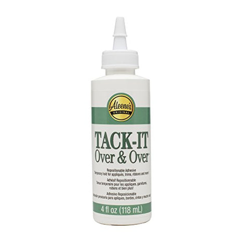 Aleene'S Tack-It Over &Amp; Over Liquid Glue 4Oz