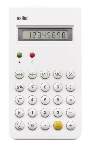 Braun - Calculator - White - Bne001Wh