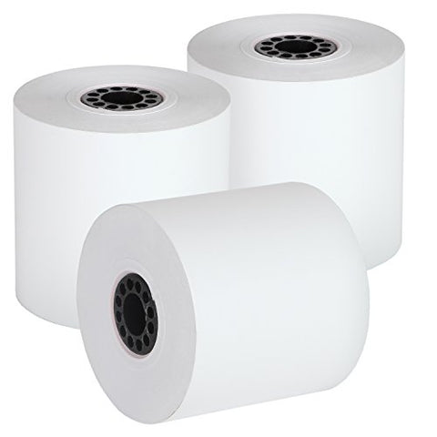 Fhs Retail Thermal Receipt Paper, 2.25 Inches X 165 Feet Roll