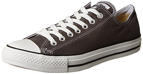 Converse Chuck Taylor All Star Canvas Low Top Sneaker,Charcoal,7 Us Men/9 Us Women