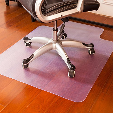 Mysuntown Office Chair Mat For Gaming Computer Chair, Floor Protector For Office And Home Hardwood Anti-Slip Thin Desk Floor Protective Mats 36'' X 48''