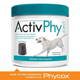 Activphy 75 Count Patented Joint Support Regular Soft Chews, 30 Lbs. And Above