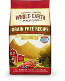 Whole Earth Farms Grain Free Recipe Dry Dog Food, Pork, Beef &Amp; Lamb, 25-Pound