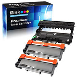E-Z Ink (Tm) Compatible Toner Cartridge &Amp; Drum Unit Replacements For Brother Dr630 Tn630 Tn660 High Yield To Use With Hl-L2300D Mfc-L2720Dw Mfc-L2740Dw Hl-L2305W(2 Black Toners &Amp; 1 Drum Unit, 3 Pack)