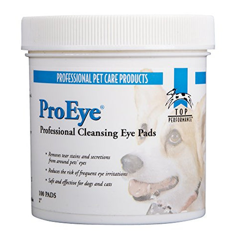 Top Performance Proeye Cleansing Pads  Safe And Effective Pads For Cleaning Around Pets' Eyes,