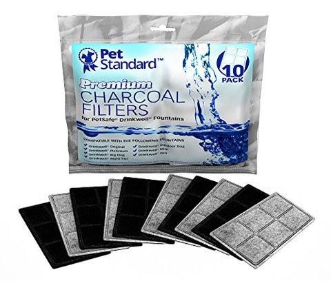 Pet Standard Premium Charcoal Filters For Petsafe Drinkwell Fountains