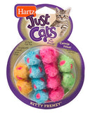 Hartz Just For Cats Kitty Frenzy Catnip Mice Toy