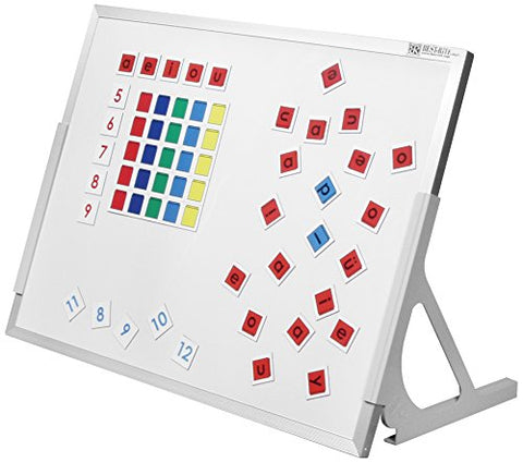Best-Rite Magnetic Language Easels, Porcelain Markerboard &Amp; Hook And Loop Surface (723Ga)
