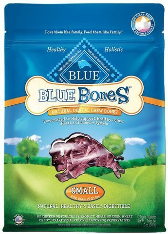 Blue Buffalo Blue Bones Dental Treats, Small (12-Oz. Bags)