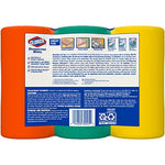 Clorox Disinfecting Wipes Value Pack, Bleach Free Cleaning Wipes - 75 Count Each