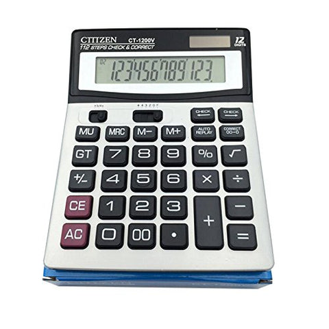 Big Number Buttons 12 Digits Dual Power Large Led Display Basic Standard Office Desktop Calculators
