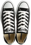 Converse Chuck Taylor All Star Ox Black Unisexm9166 9 B(M) Us Women / 7 D(M) Us Men Black