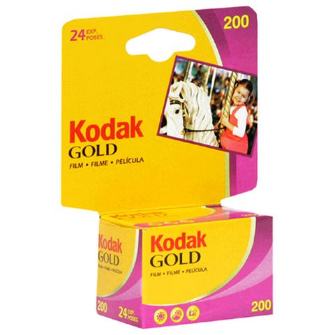 Kodacolor Gold Film, 35 Mm, 200 Asa, 24 Exposure