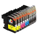 Ts Compatible Ink Cartridges Replacement For B - Lc103 Xl (4 Black, 2 Yellow, 2 Magenta, 2 Cyan 10-Pk) For Mfc-J4510Dw Mfc-J4610Dw Mfc-J4710 Mfc-J470Dw Mfc-J475Dw Mfc-J870Dw Mfc-J875Dw