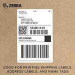 Zebra - Gx420D Direct Thermal Desktop Printer For Labels, Receipts, Barcodes, Tags, And Wrist Bands - Print Width Of 4 In - Usb, Serial, And Ethernet Port Connectivity (Includes Peeler)