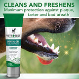 Vets Best Enzymatic Dog Toothpaste | Teeth Cleaning And Fresh Breath Dental Care Gel | Vet Formulated | 3.5 Ounces