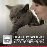 Hill'S Science Diet Adult Perfect Weight Cat Food, Chicken Recipe Dry Cat Food For Healthy Weight And Weight Management, 15 Lb Bag