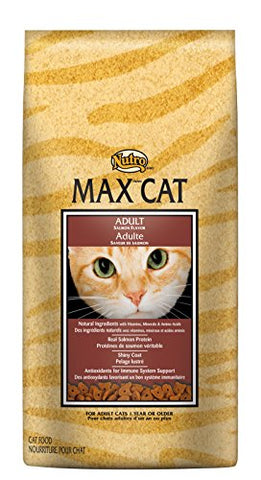 Nutro Max Cat Senior Dry Cat Food, Salmon, 3 Lbs.