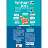 Natural Balance Puppy Formula Dry Dog Food, Original Ultra Whole Body Health, Chicken, Brown Rice &Amp; Duck Meal Formula, 28-Pound