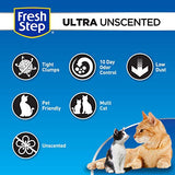 Fresh Step Ultra Unscented Litter, Clumping Cat Litter, 20 Pounds