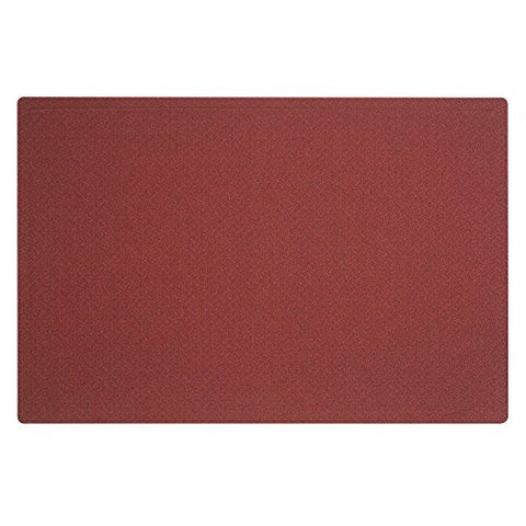 Quartet Fabric Bulletin Board, 3' X 2', Frameless, Oval Office, Burgundy (7683Pb)