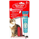 Petrodex Dental Kit For Cats, Malt Flavor Toothpaste, 2.5 Oz