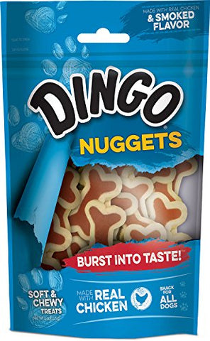 Dingo Soft And Chewy Nuggets For All Dogs, 4-Ounce - P-25054