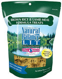Natural Balance L.I.T. Limited Ingredient Dog Treats, Small Breed, Brown Rice &Amp; Lamb Meal Formula, 8-Ounce