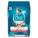 Purina One Tender Selects Blend With Real Salmon Adult Dry Cat Food - 16 Lb. Bag