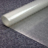 Floortex Long &Amp; Strong Hallway Runner, Clear Pvc Carpet Protector Roll Mat, For Standard Pile Carpets, Size 48  X 12Ft (Frr114812Ev)