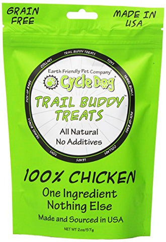 Cycle Dog Trail Buddy Dog Treat, 2-Ounce, Chicken