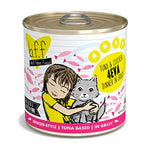 Weruva Best Feline Friend (B.F.F.) Tuna &Amp; Chicken 4-Eva With Tuna &Amp; Chicken In Gravy Cat Food, 10Oz Can